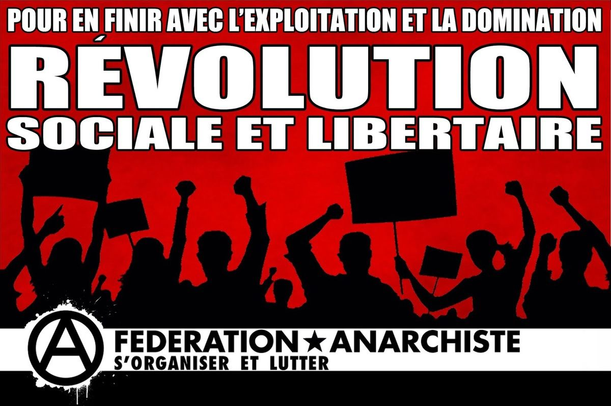 Anarchisme Fédéralisme Autogestion