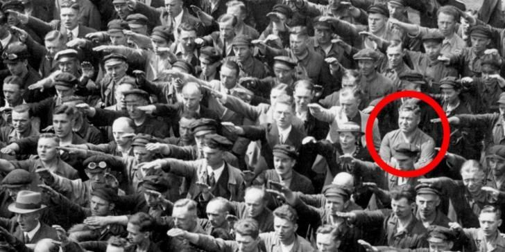 August Landmesser  Antinazisme