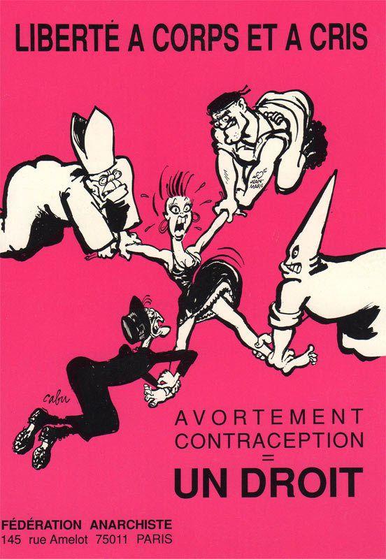 Féminisme Anarchisme femmes IVG contraception fascisme religions sexisme patriarcat