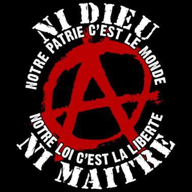 Anarchisme Anarchie Libertaire Anticapitalisme Autogestion Internationalisme Antimilitarisme Anticléricalisme