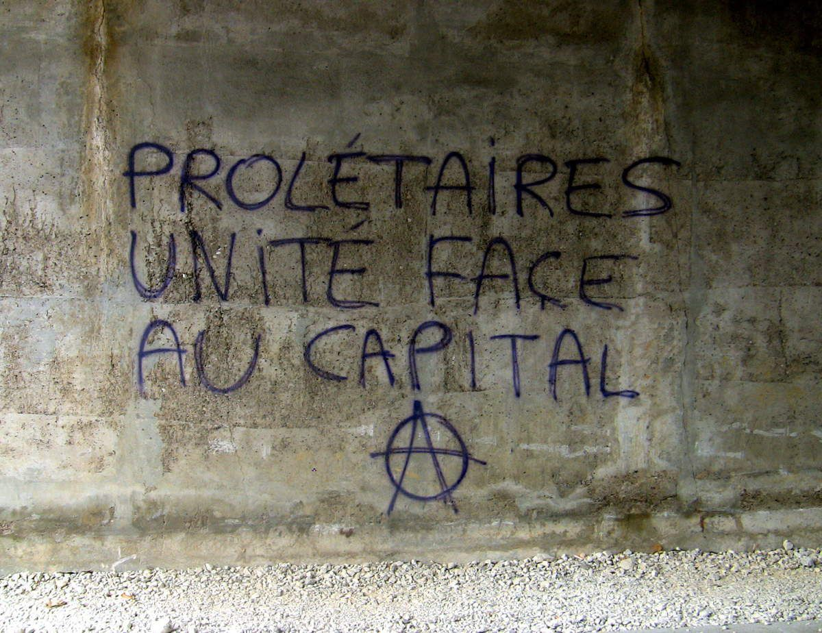 prolétariat anarchisme