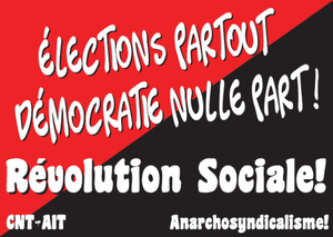 électoralisme élections anarchisme abstention démocratie politique
