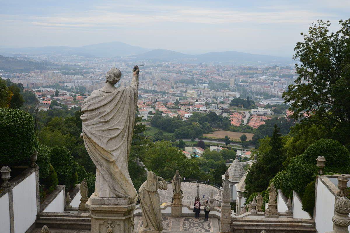 Sanctuaire du Bom Jesus - Cathédrale de Braga