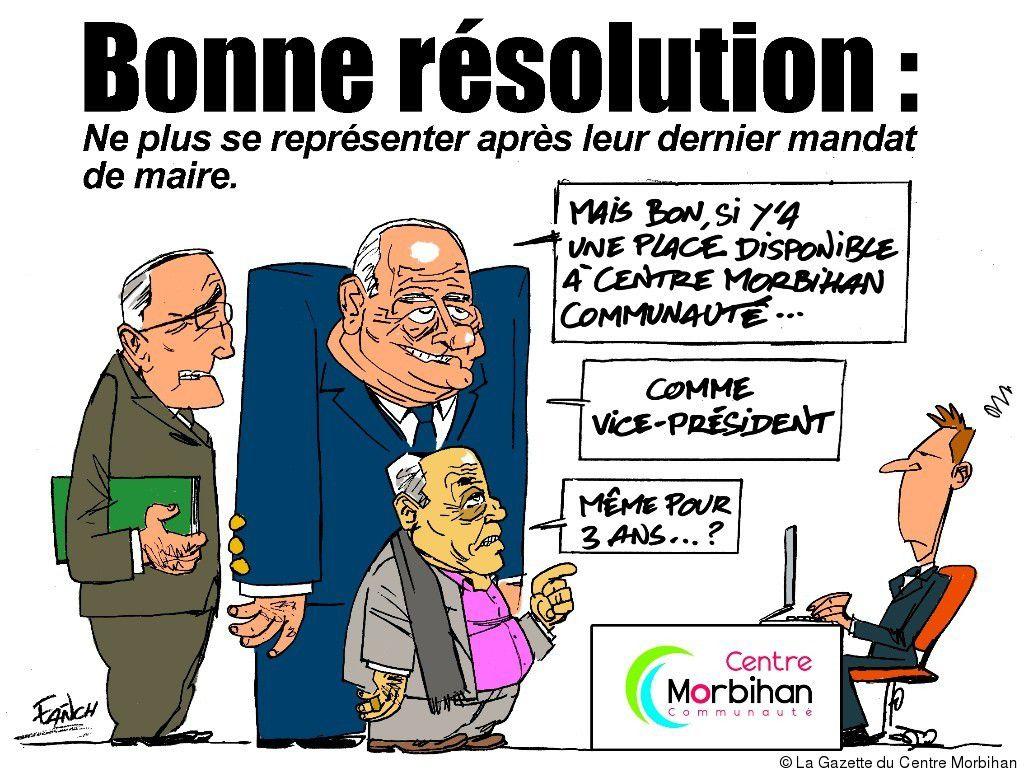 Gérard Corrignan, Noël Le Loir et Jean-Paul Bertho, pas contre un énième mandat