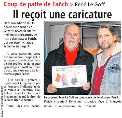Gazette du Centre Morbihan - 27/01/2017