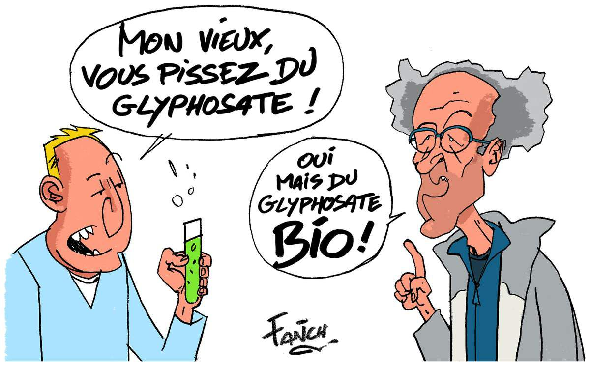 Il mange bio à 100 % et est végétarien à 95 %. Et pourtant, les urines de Michel Coudé, de Crédin (Morbihan), contiennent des pesticides : 11,5 plus que les doses minimales admises.