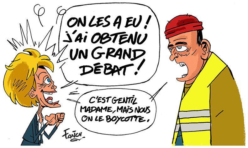 Il y aura un Grand débat national à Pontivy (Morbihan) jeudi 14 mars.