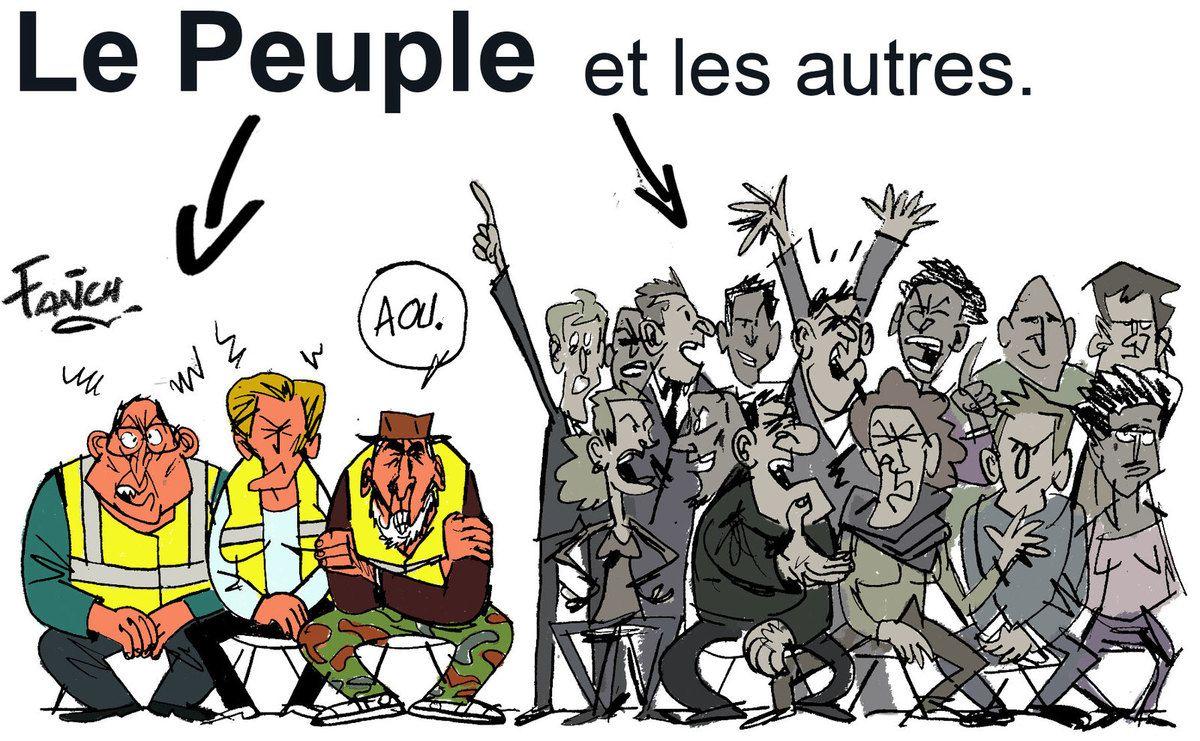 Pontivy (Morbihan) a organisé son Grand débat national. Une poignée de Gilets jaunes a fait acte de présence.