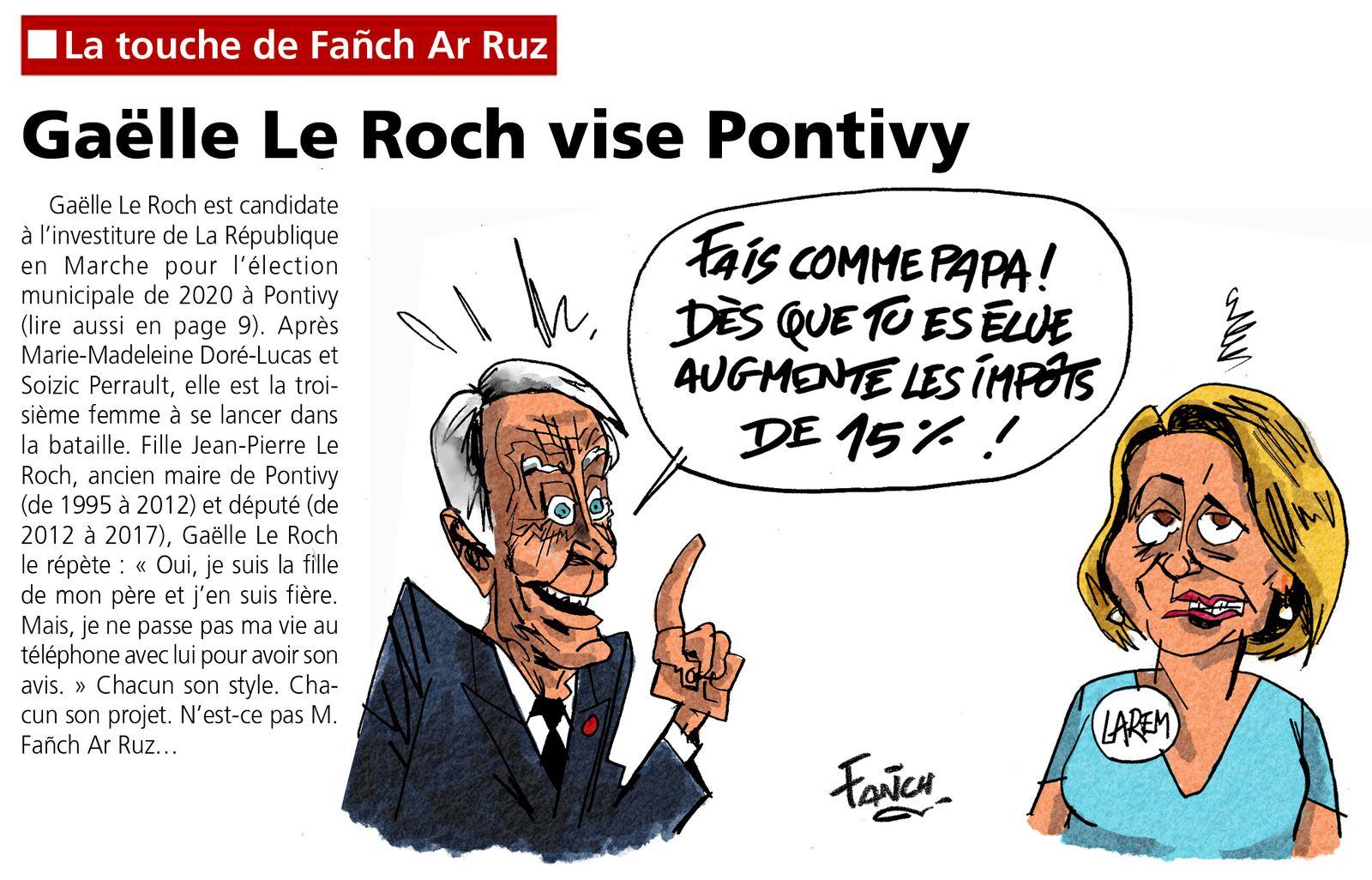 Gaëlle Le Roch vise Pontivy