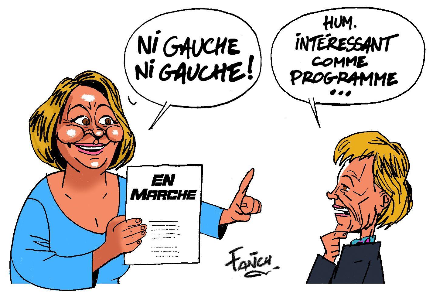 Gaëlle Le Roch et Christine Le Strat