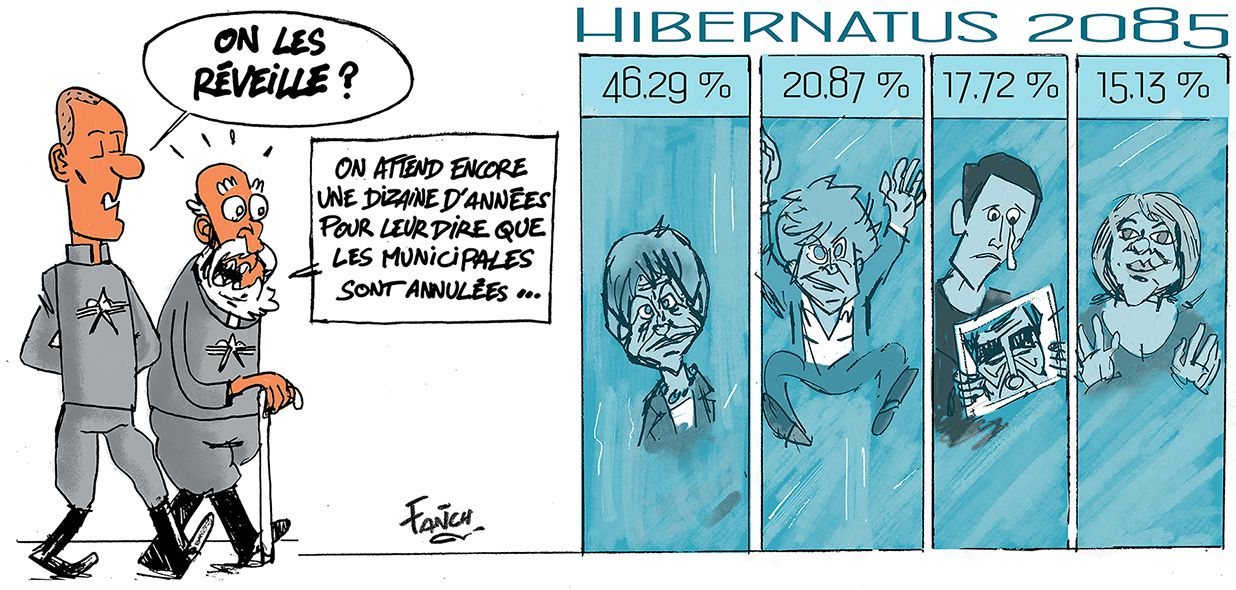 Municipales gelées par le confinement