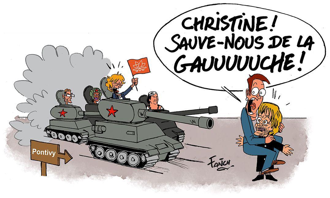 Les chars soviétiques sont aux portes de Pontivy !