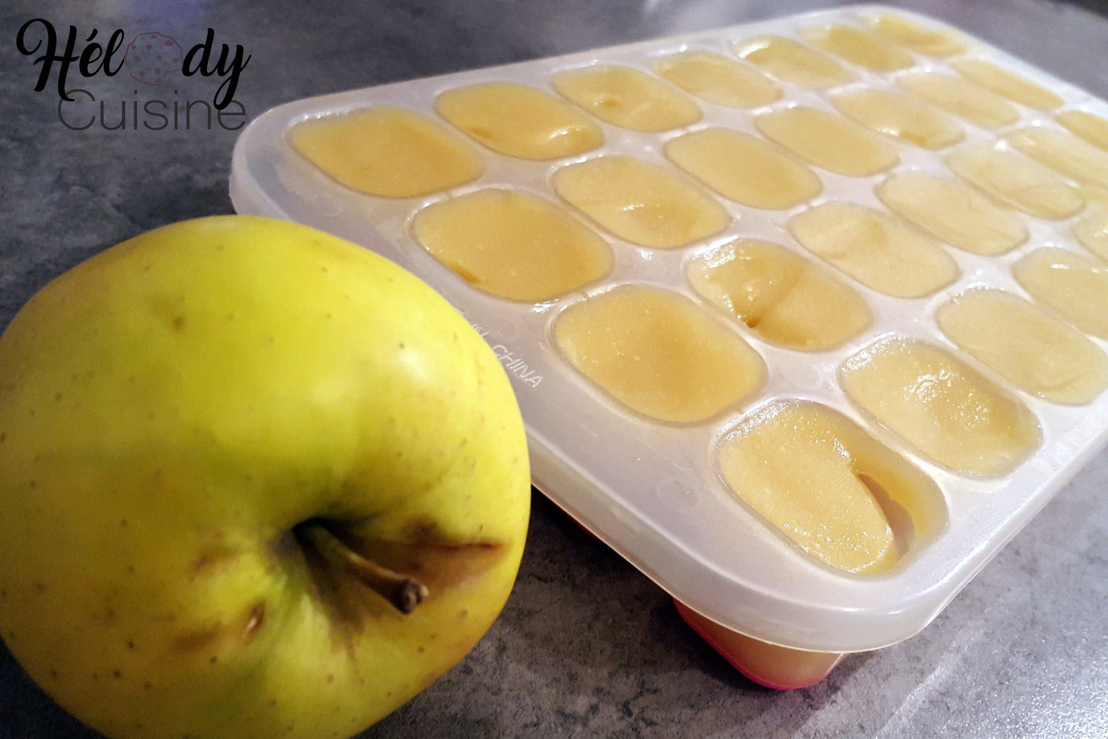 Compote de pomme pour bébé