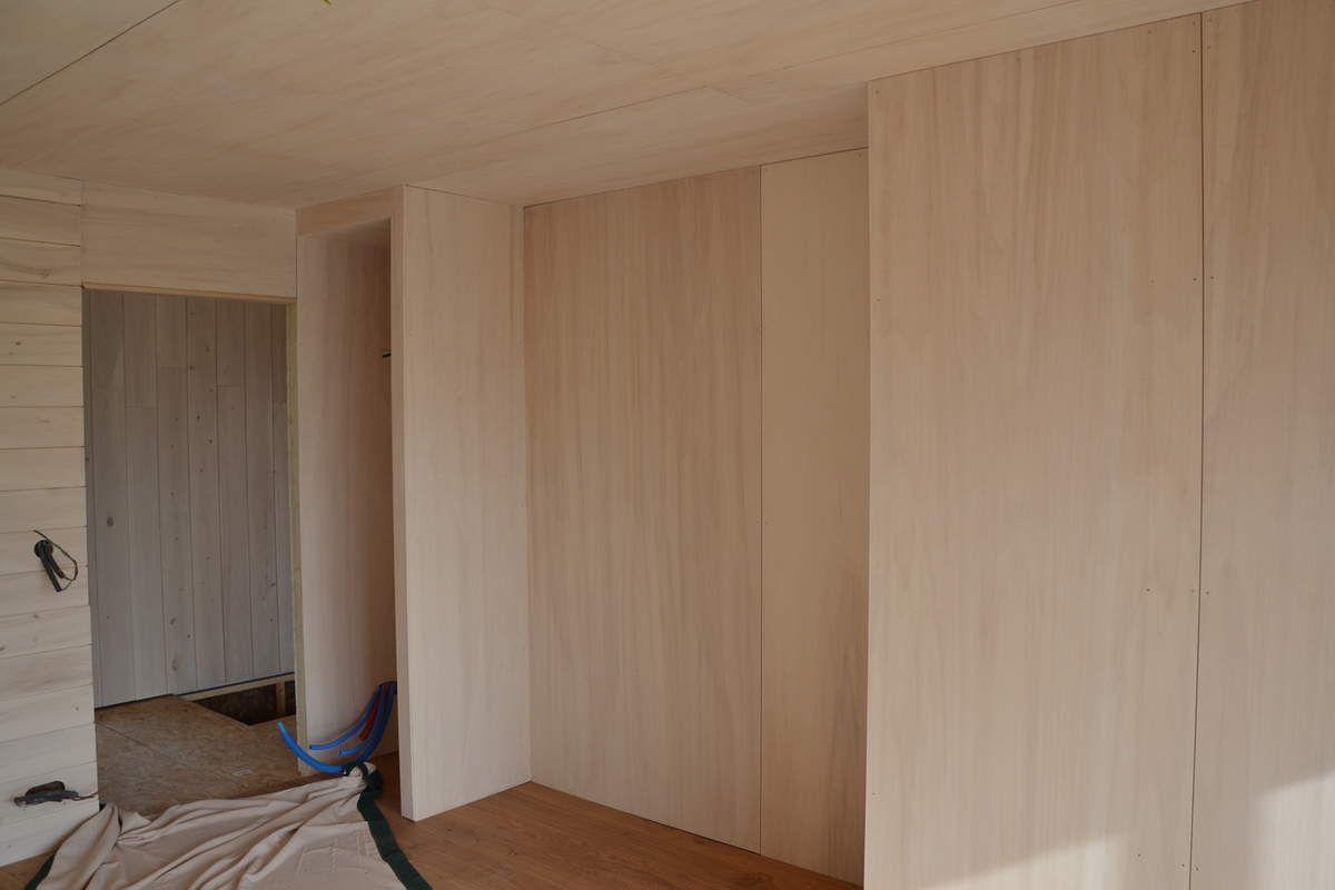 Habillage De Mur Intérieur finitions intérieures peuplier - elevation bois
