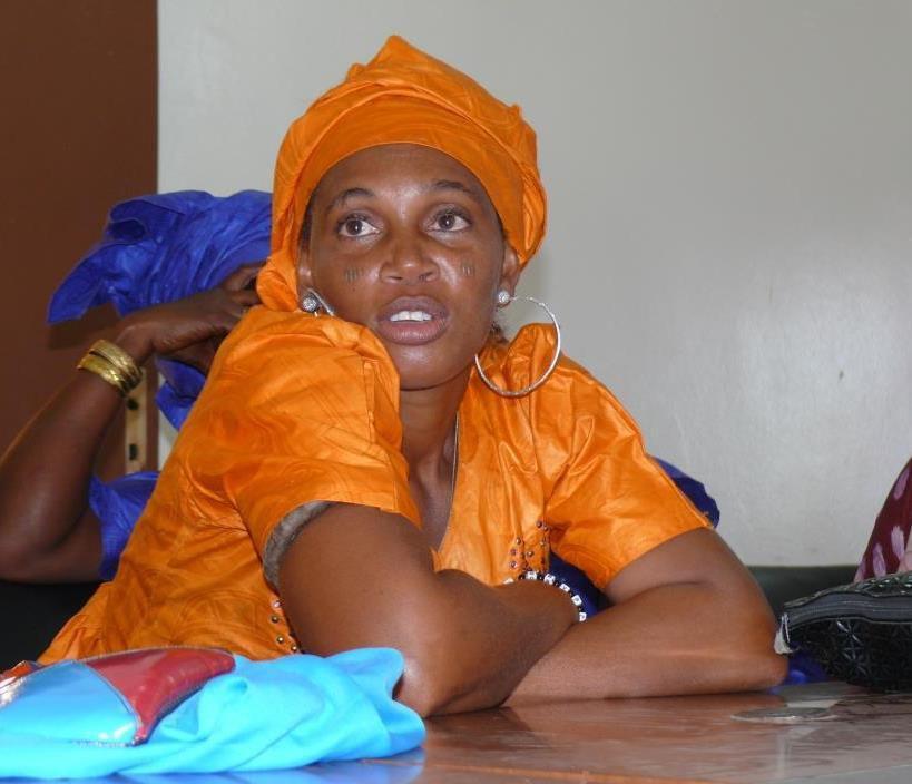 Une femme bénéficiaire de bourse d'entreprendre du Diéga