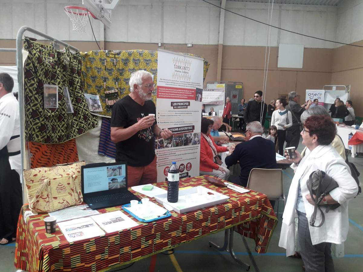 Participation au forum des associations à Machecoul