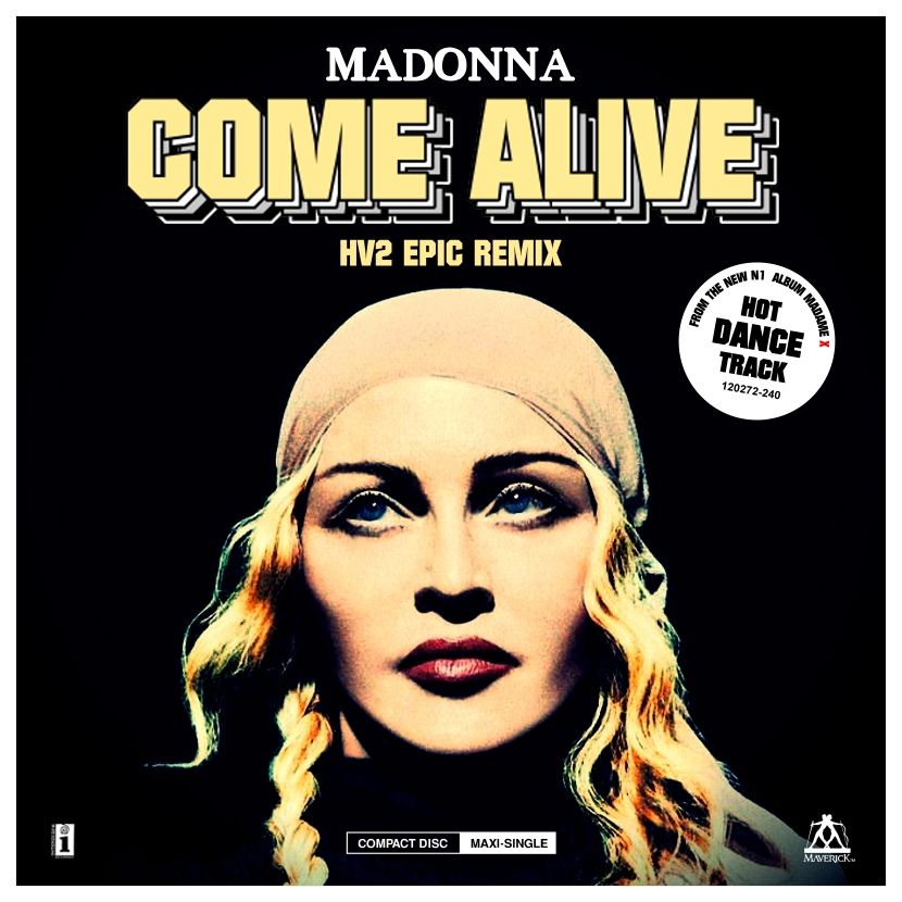 HV2 remixes adamanton madonna comealive madamex