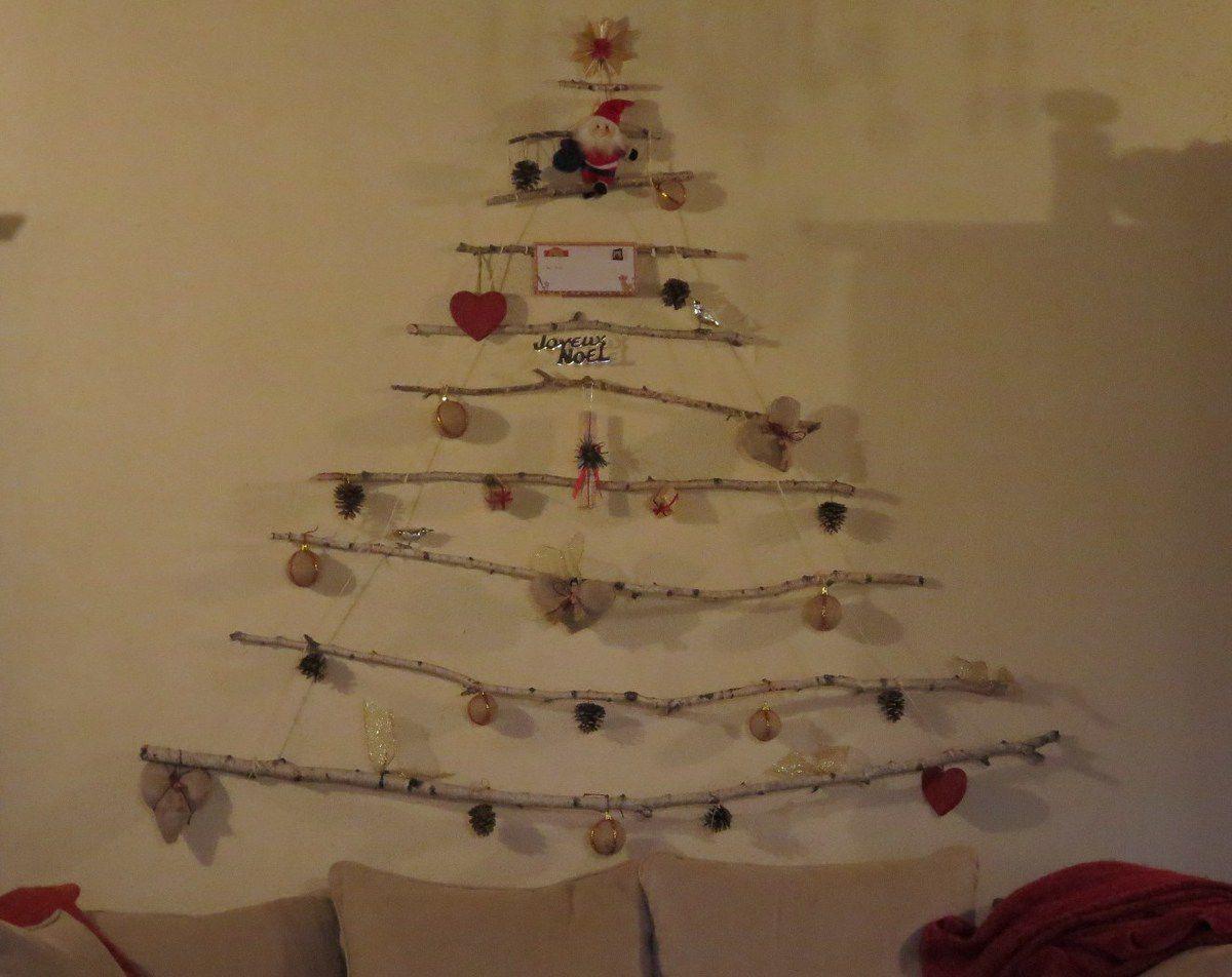 Sapin De Noel Sur Le Mur joyeux noËl - passion