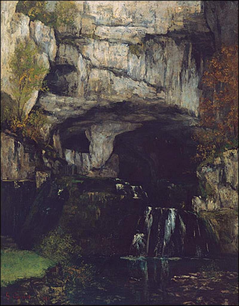 Gustave Courbet (1819-1877) La source du Lison