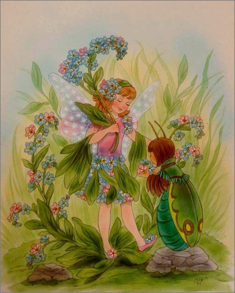 Illustrations fleurs animées - Christl Vogl