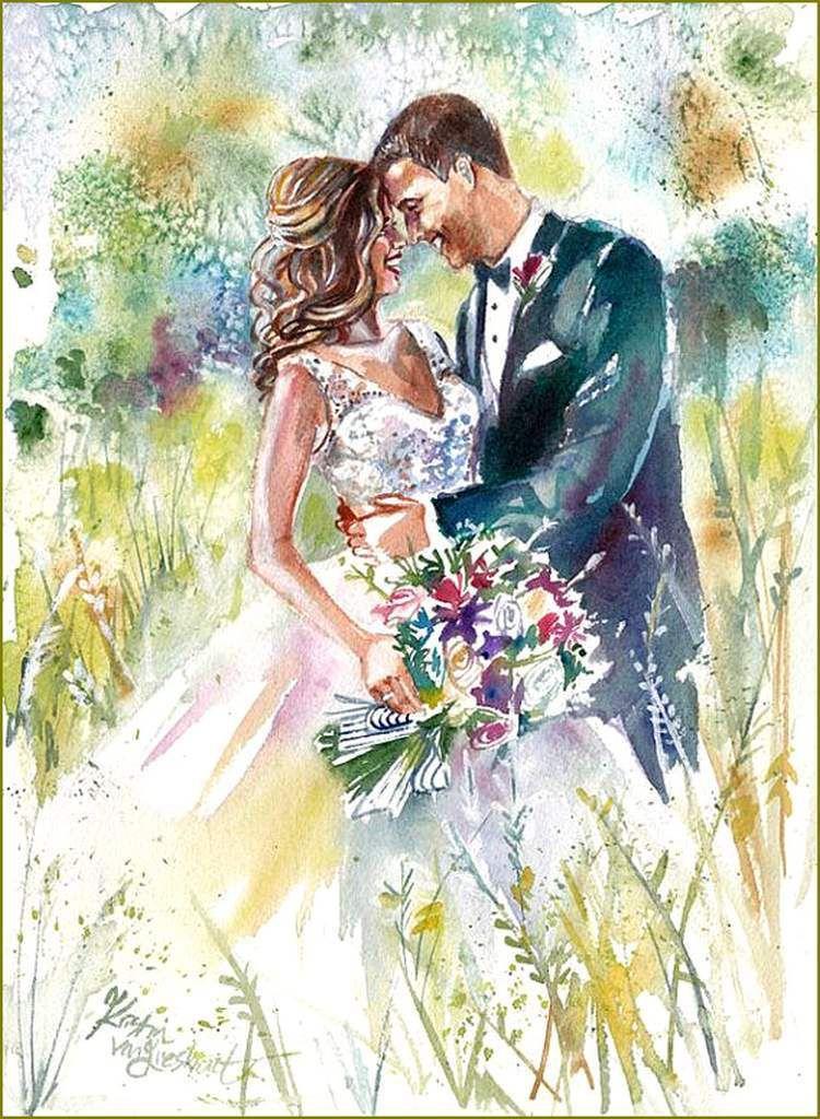 Le mariage en peinture et illustration