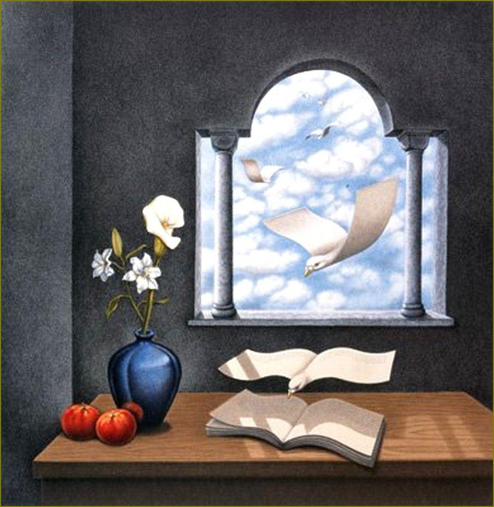 Illusion d'optique et perception en peinture - Rafal Olbinski