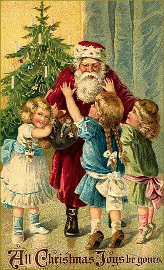 cartes anciennes Joyeux Noël 
