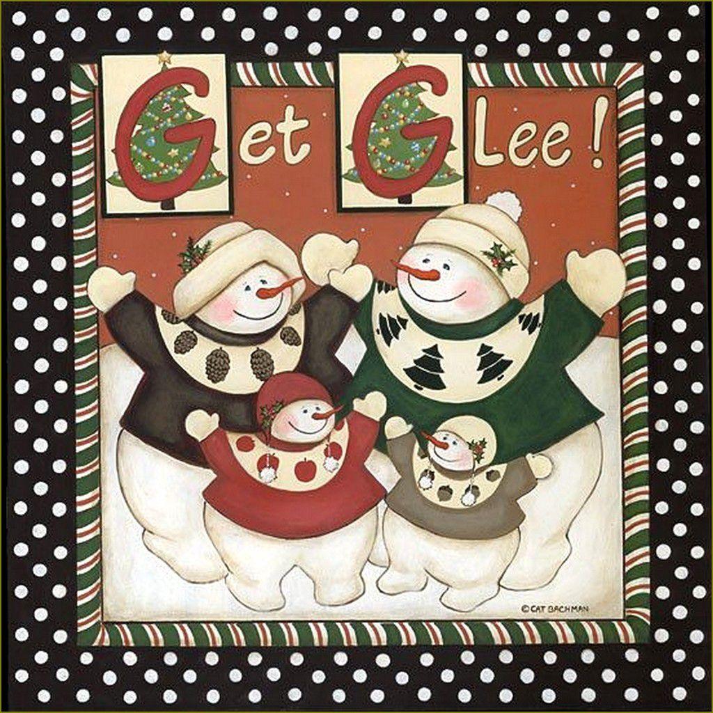 Bonhomme de neigeen illustration-  Cat Bachman