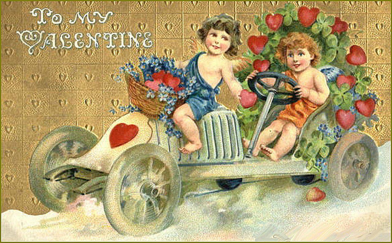 vintage Saint-Valentin