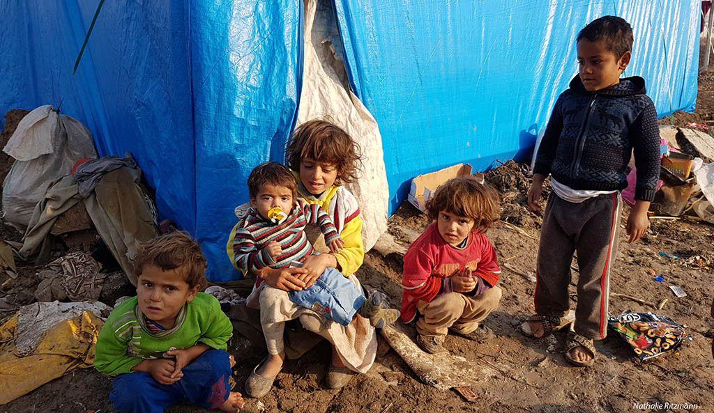 Camp de réfugiés d'Adana, décembre 2016