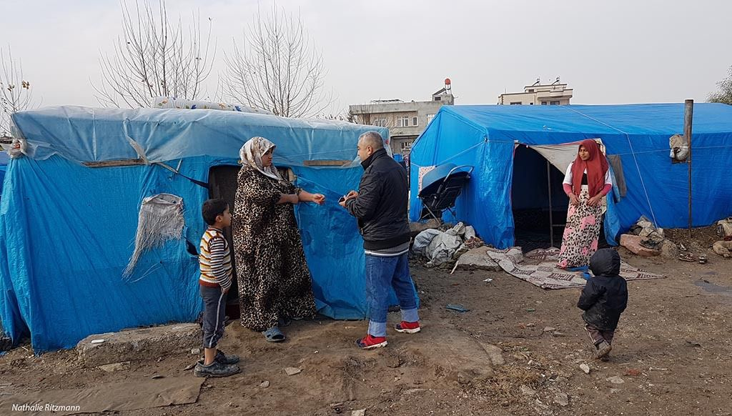 Camp non-gouvernemental de réfugiés d'Adana, Turquie