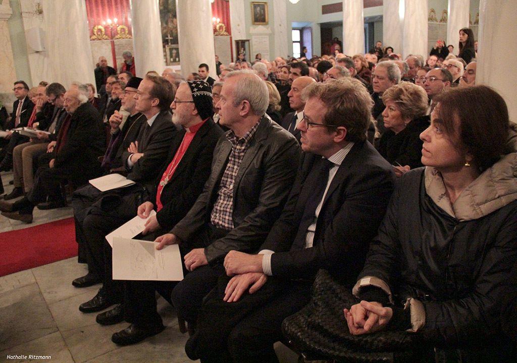 19 mars 2017, église arménienne catholique Surp Pirgiç de Galata à Karaköy/Istanbul