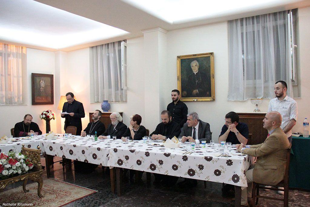 Premier iftar offert par le Vicaire Apostolique d'Istanbul