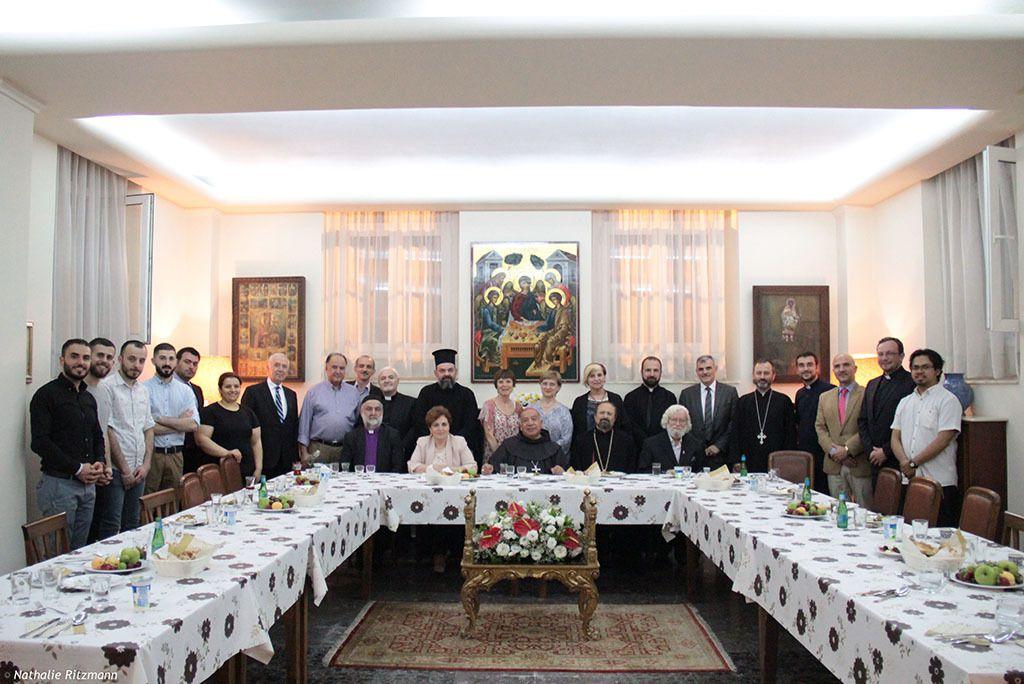 Premier iftar du vicaire apostolique d'Istanbul le 11 juin 2017