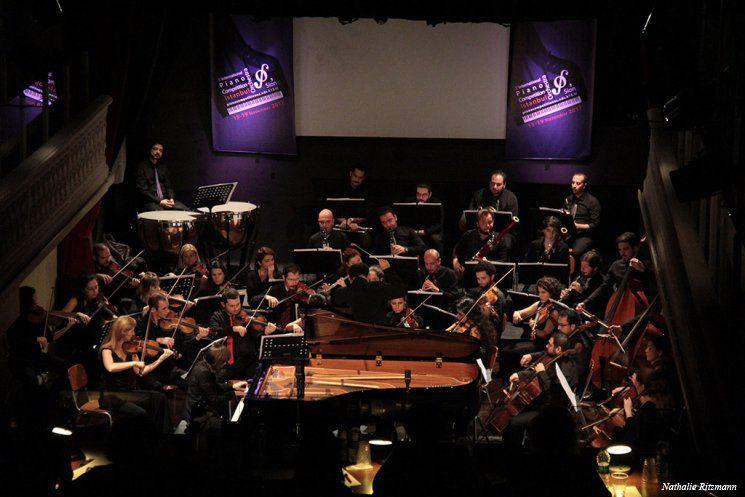 Epreuve finale du Concours International de Piano - Istanbul Orchestra'Sion 2017 avec Orchestra'Sion, sous la direction du chef d'orchestre et Président du Jury Vahan Mardirossian