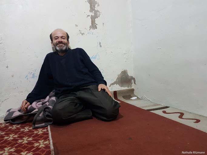 Mustafa, réfugié d'Alep à Konak/Izmir