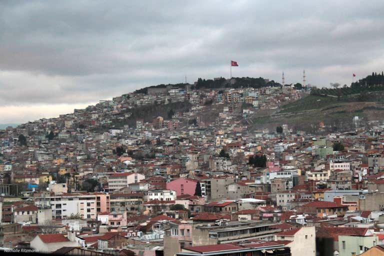 Kadifekale à Izmir, vu d'en bas... et d'en haut...