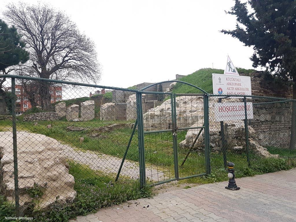 Entrée de l'ArchéoPark de Küçükyalı/Istanbul