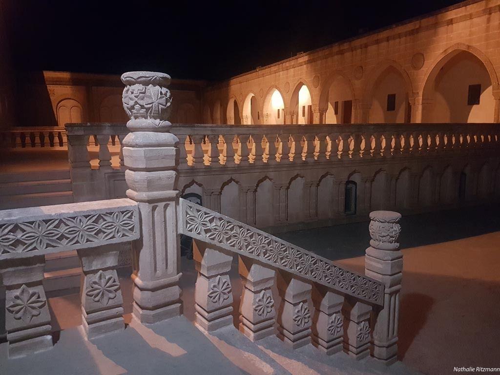 Mor Gabriel, Tur Abdin, de nuit