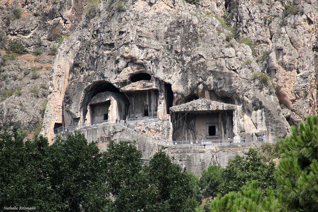 Tombeaux de rois, Amasya