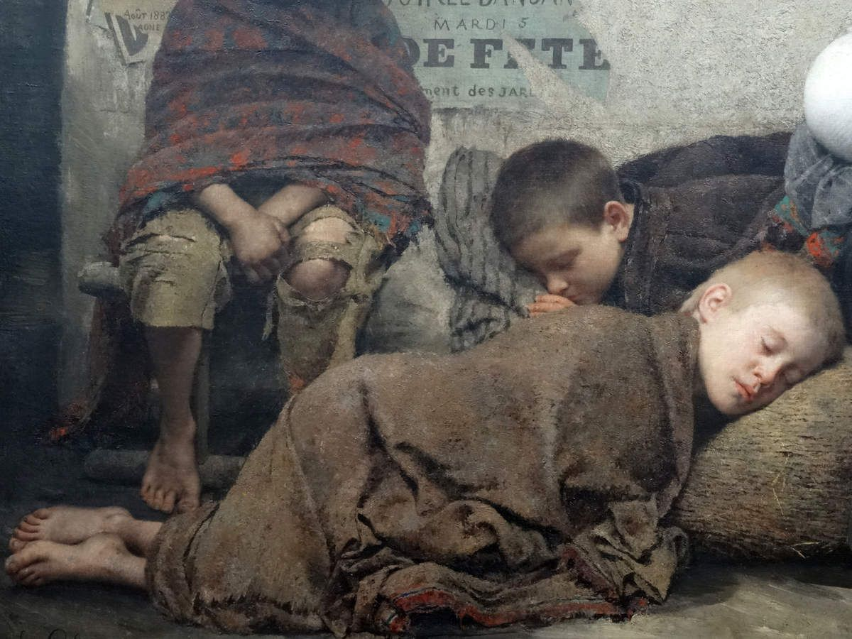 """Fernand PELEZ - """"Sans asile"""" Petit Palais Paris - oct. 2015"""