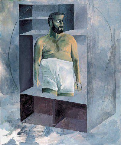 Martin Kippenberger - sans titre - 1988 Huile sur toile - Photo de Picasso