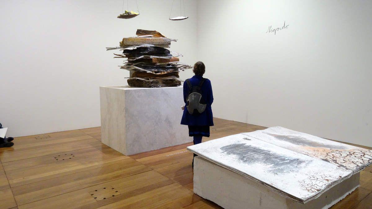 Anselm Kiefer - BNF Paris - février 2016