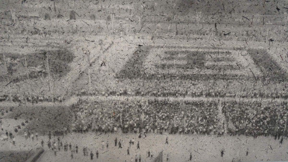 - National day 2009 - La place TIan Anmen lors de la cérémonie des dix ans de la République populaire de Chine par Mao Zedong