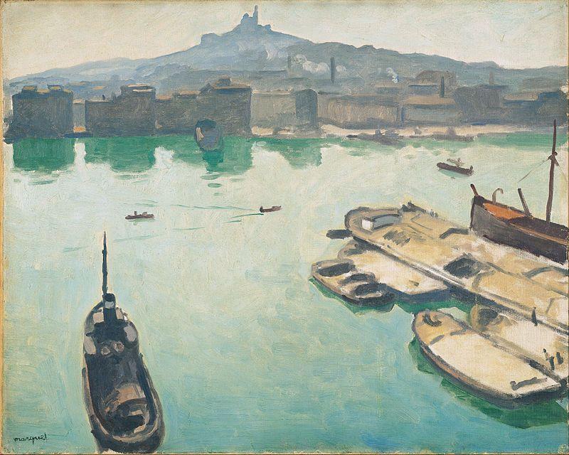 Hambourg 1909 - Honfleur 1911 - Naples 1908 -  Marseille 1907 -  Alger -