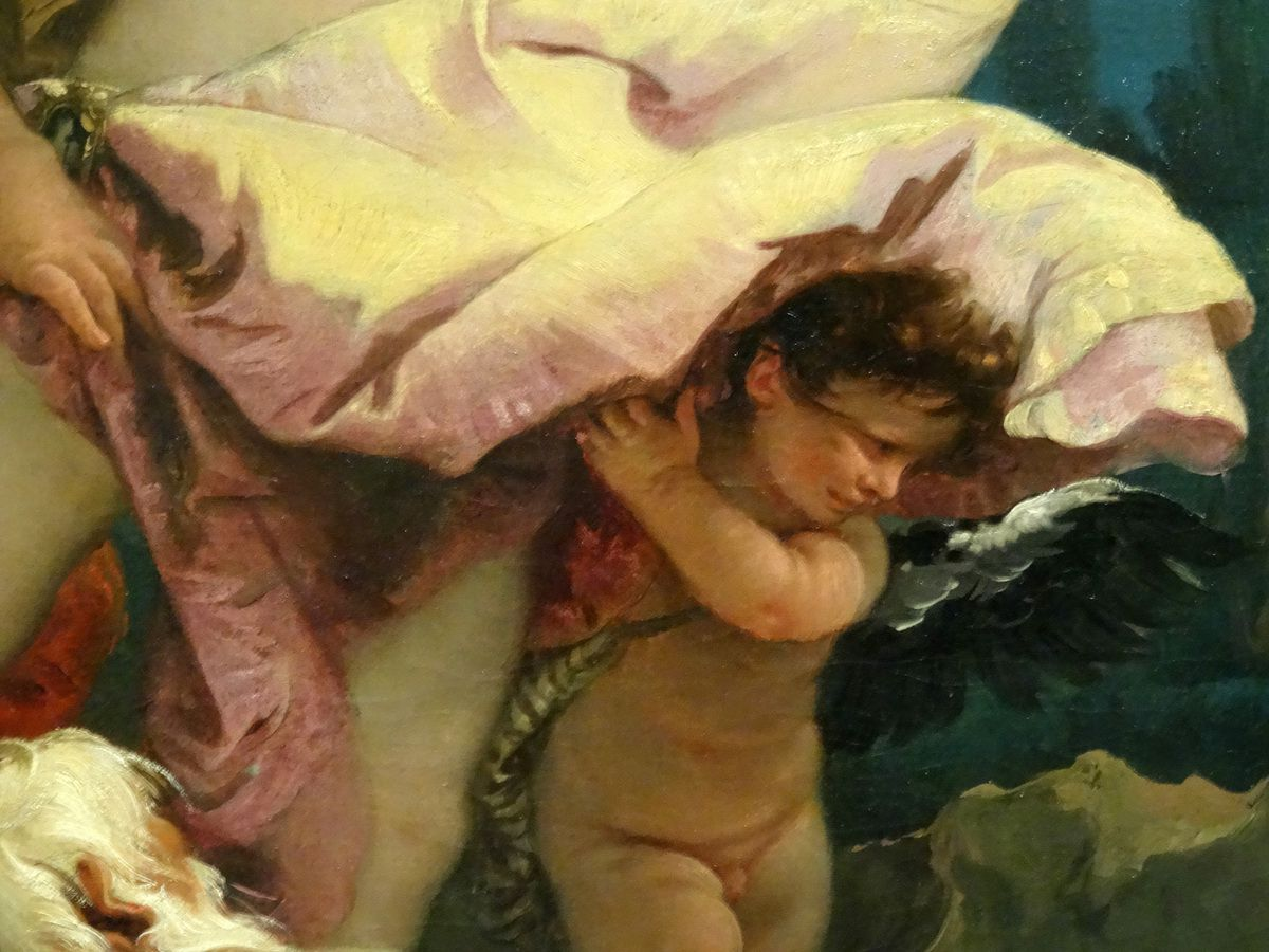 Giovanni Battista Tiepolo - Apollon et Daphnée - 1743 - huile sur toile