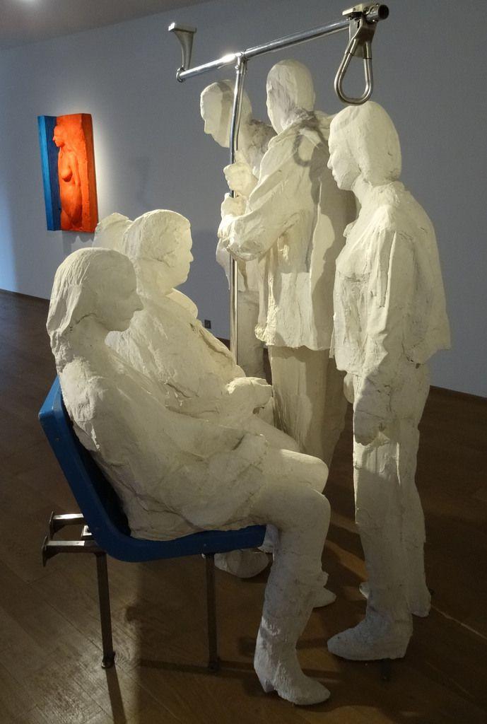 Galerie Templon - George Segal - octobre 2017