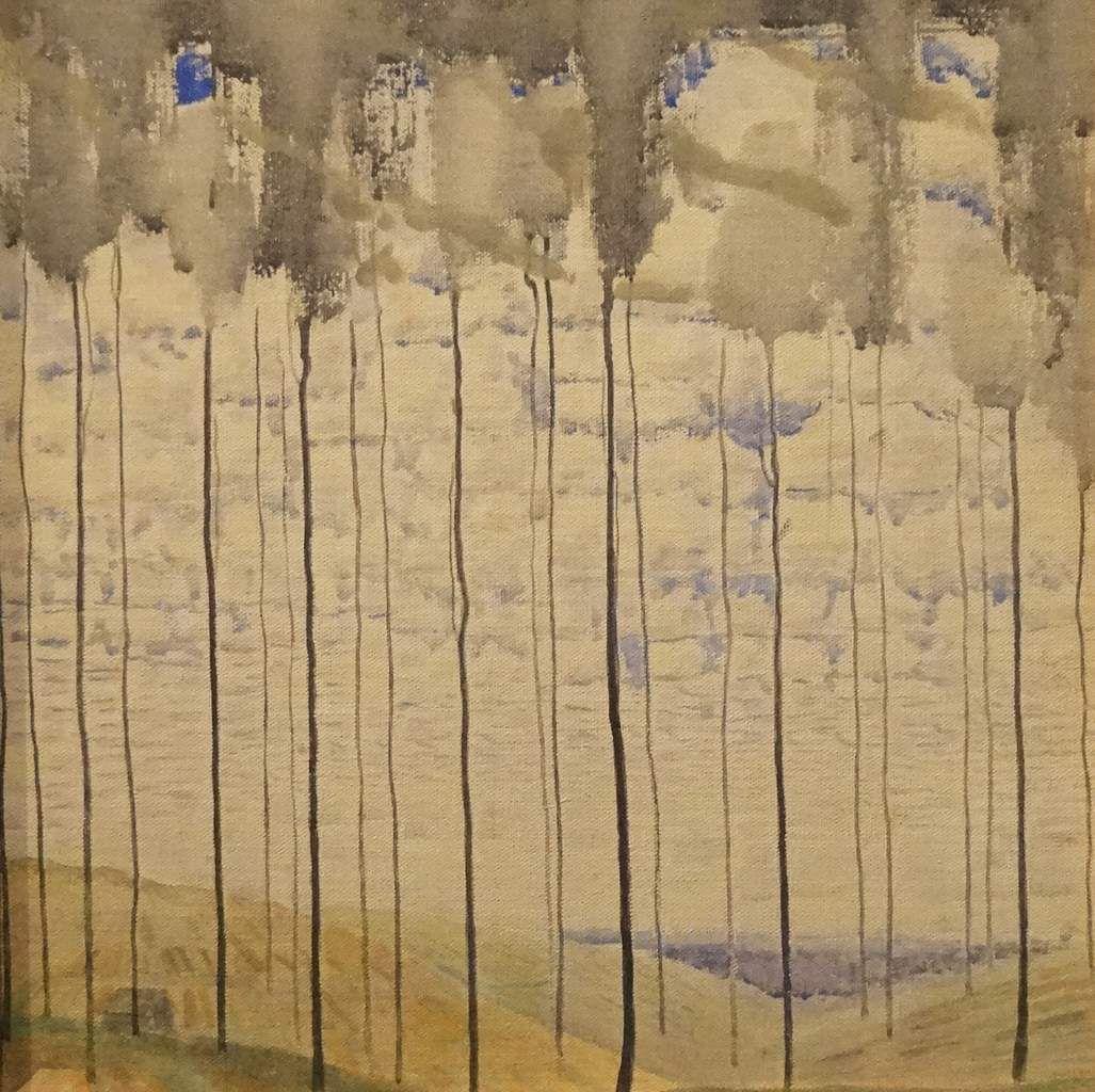 COUP DE COEUR / L'Eté - 1907 - Tempera sur toile - Ciurlionis