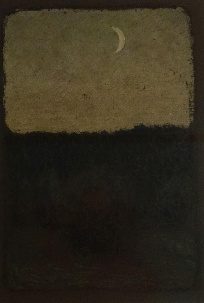 DEUXIEME COUP DE COEUR/ Nouvelle Lune - Pastel - 1905 - Peteris Krastins - Lettonie
