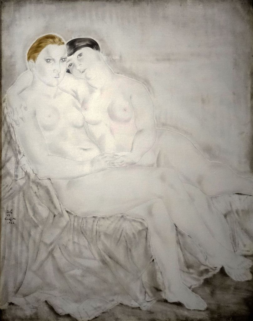 Portrait de Suzy Solidor 1927/  Les deux amies 1926  / Les deux amies 1930